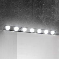 Hollywood LED mirror lamp  85 cm  7 bulb