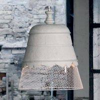 Karman Domenica plaster hanging light  white 50 cm