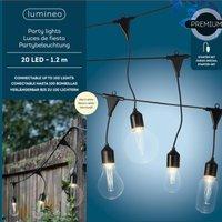 490150 LED string lights 4 bulb shapes