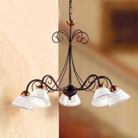 Romantic LIBERTY hanging light  5 bulb
