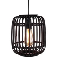 Woodrow hanging lamp  bamboo cage lampshade