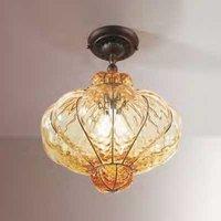 Murano glass ceiling light SULTANO  37 cm
