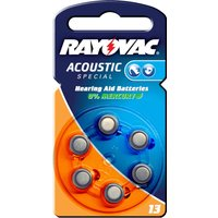 Acoustic 1,4V, 310m/Ah Knopfzelle Rayovac 13