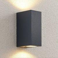 ELC Fijona LED outdoor wall lamp  angular  15 cm