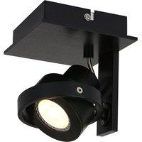 Westpoint LED spotlight 1 bulb black