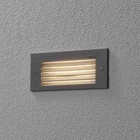 BEGA 33017 LED wall light 3 000 K silver 17 cm