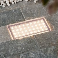 Prios Ewgenie LED deck light 20 x 10 cm