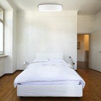 Mia ceiling light  white   60 cm