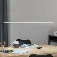 Orix LED hanging light  white  90 cm long