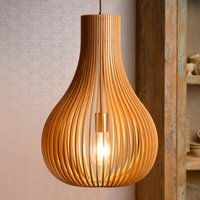 Bodo hanging light  light wood