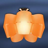 Sky Mini Alien   orange ceiling light