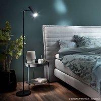 Sch ner Wohnen Stina LED floor lamp  black