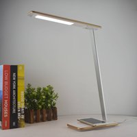 Orbit LED desk lamp with induction  gold