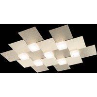 GROSSMANN Creo LED ceiling light  7 bulb champagne