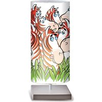 Zebre colourful table lamp for children s rooms