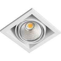 Zipar Uno Recessed LED downlight 12 W  3 000 K