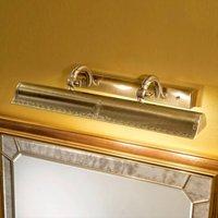 Gold coloured Galleria picture light