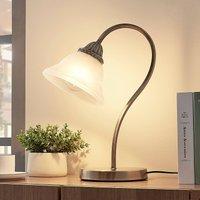 gebogen tafellamp Mialina, E27 LED