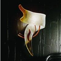 CAPRI Italian designer wall light left