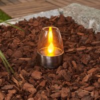 Decorative Pedas LED solar table lamps  ten