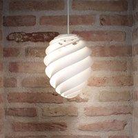 LE KLINT Swirl 2 small  hanging light  white
