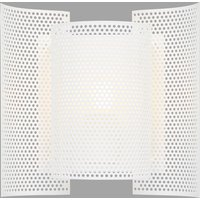 Northern Butterfly perforated wall light  white