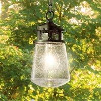 Stylish Lyndon pendant light for outdoors