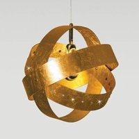 Knikerboker Ecliptika   gilded hanging light 40 cm