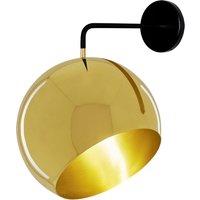 Nyta Tilt Globe Wall Brass wall lamp