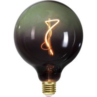 Image of E27 G125 4W LED-Globe 2.200K schwarz/grün dimmbar