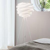 UMAGE Carmina floor lamp tripod in white