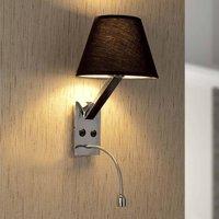 Moma 2 Flexible LED Wall Lamp  Black