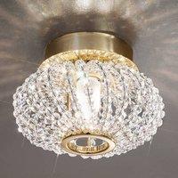 KOLARZ Carla   crystal ceiling light with gold