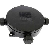 Waterproof 3 way cable distributor round