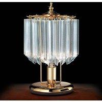 Cristalli table lamp 24 carat gold plated