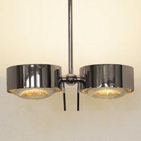 Two bulb Ceiling light PUK SIDES  chrome  30 cm