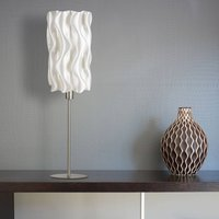 Am be table lamp made of biomaterial  height 70 cm
