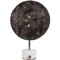 Forestier Chanpen S Hexagonal table silver black