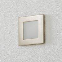 BEGA Accenta wall lamp angular frame steel 160 lm