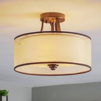 Lacey semi flush ceiling light