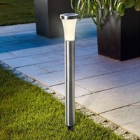 LED solar lamp with ground spike   Tower Light