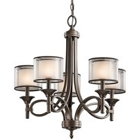 Lacey 5 bulb chandelier