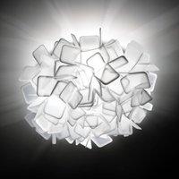 Extraordinary Clizia wall light  white