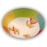 Rainbow Rabbit   round children s ceiling lamp