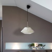 Lamell hanging light made of biomaterial    30 cm