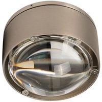 Puk One 2 LED ceiling light  matt nickel