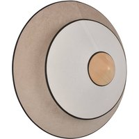 Forestier Cymbal S LED wall light  natural