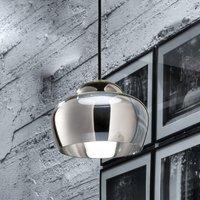 Cristallina LED hanging light chrome