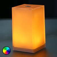 Cub table lamp  6 pack  app controllable  RGBW