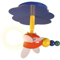 Playful ceiling light Fly  1 bulb